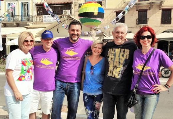 Μήνυμα ελπίδας για ένα ομορφότερο κόσμο, έστειλε ο Σύλλογος ΑΛΜΑ και ο Σύλλογος ατόμων με ΣΚΠ