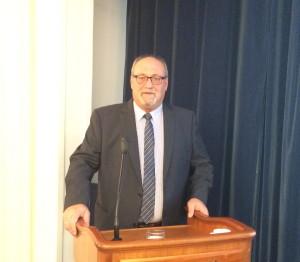 Ο πρόεδρος της Menarini Hellas Γιώργος Συκιανάκης