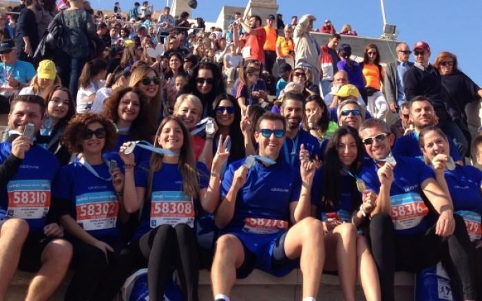Η AbbVie Running Team έτρεξε στον 33ο Μαραθώνιο για τα παιδιά και τους νέους με αναπηρία