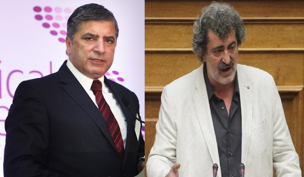 Γ.Πατούλης κατά Π.Πολάκη: «Ντροπή να είναι πρώην συνδικαλιστής και να μη συναντά τους γιατρούς»!