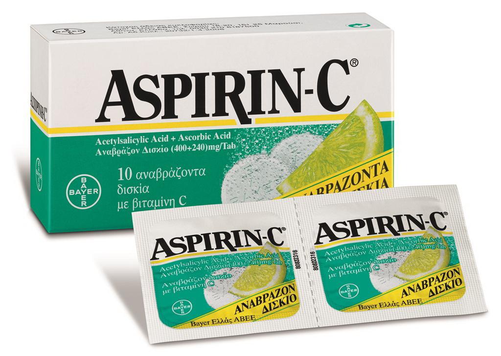 Η Ασπιρίνη C χτυπά και τα κρυολογήματα!