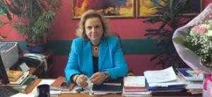 Η πρόεδρος της ΕΙΝΑΠ Ματίνα Παγώνη