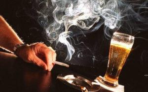 τσιγάρα ποτά