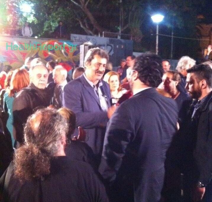 Δείτε τον Π.Πολάκη να μιλά σε ανοικτή συγκέντρωση στην πλατεία Χαλανδρίου! (ΦΩΤΟ)