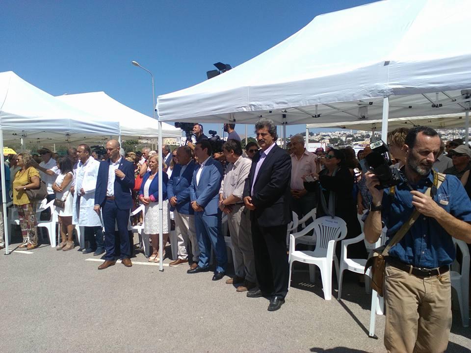 Εγκαίνια στο νέο Νοσοκομείο Σαντορίνης παρουσία του πρωθυπουργού! (ΦΩΤΟ)