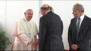 Παναγιώτης Βάρδας Πάπας Φραγκίσκος