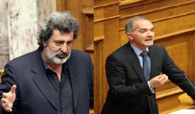Παύλος Πολάκης Μάριος Σαλμάς