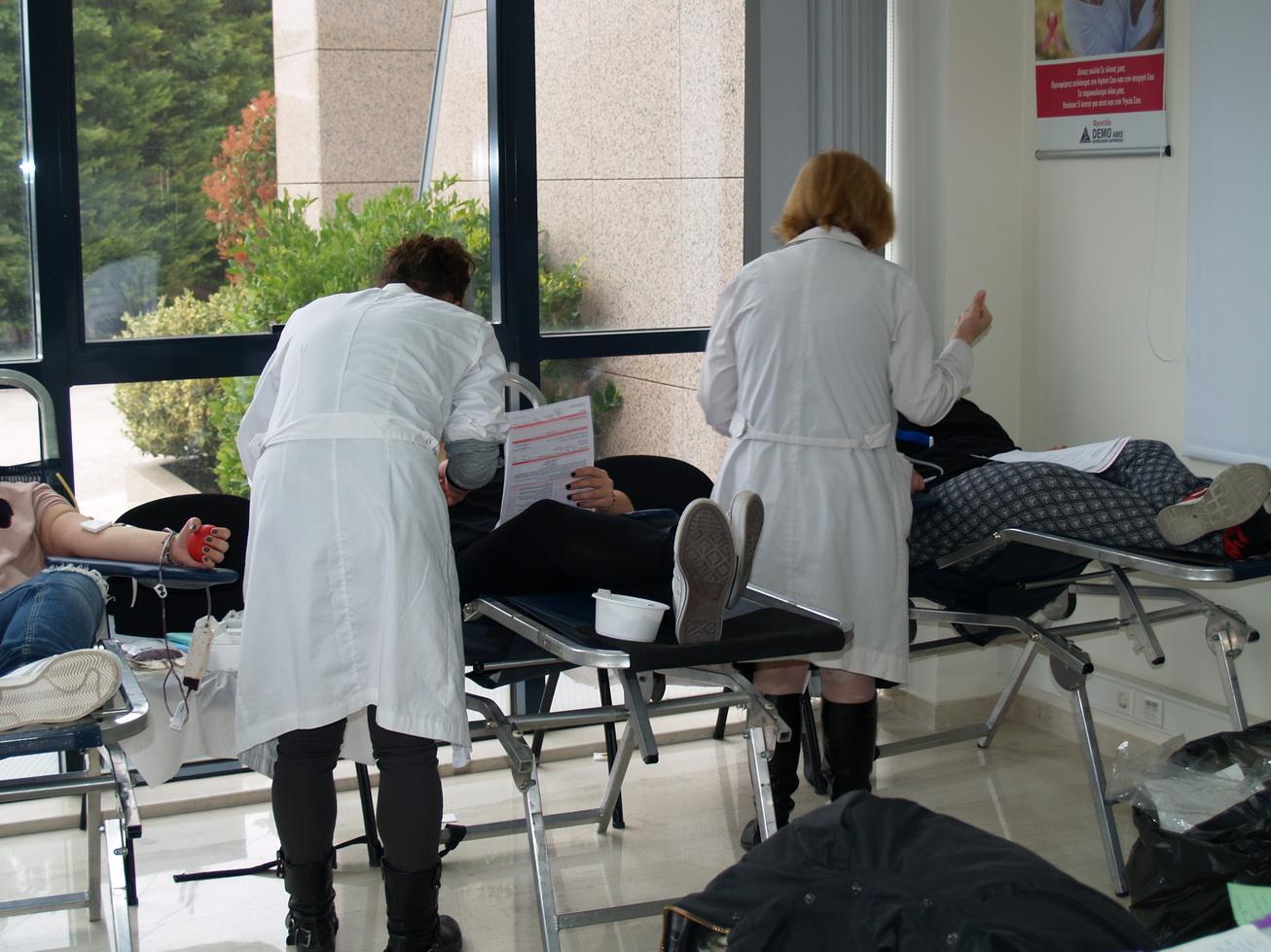 DEMO: 11 χρόνια Τράπεζα Αίματος