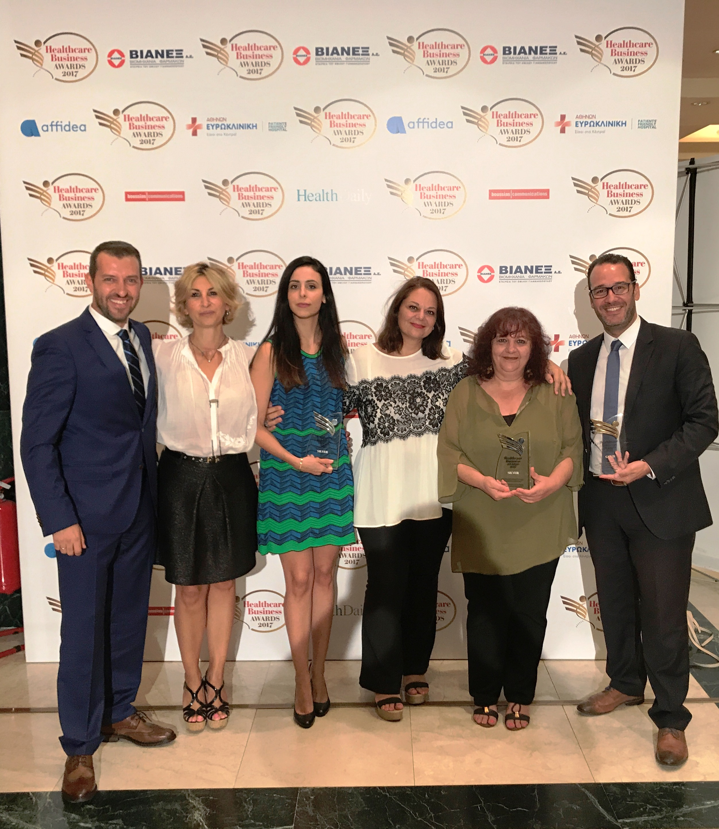 AbbVie: Μεγάλη νικήτρια του θεσμού Healthcare Business Awards 2017