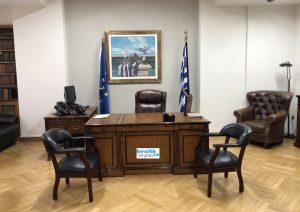 Το γραφείο του υπουργού Υγείας