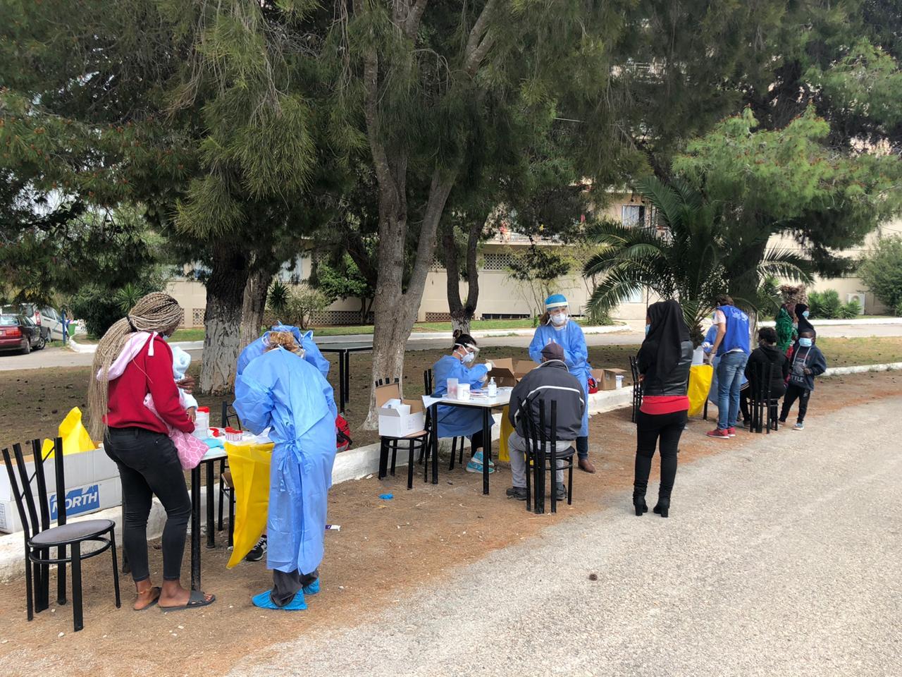 Κορονοϊός: Ξεκίνησε η δειγματοληψία στη δομή μεταναστών στο Κρανίδι – Επιτόπου Χαρδαλιάς, Τσιόδρας, Μηταράκης- Δείτε φωτογραφίες