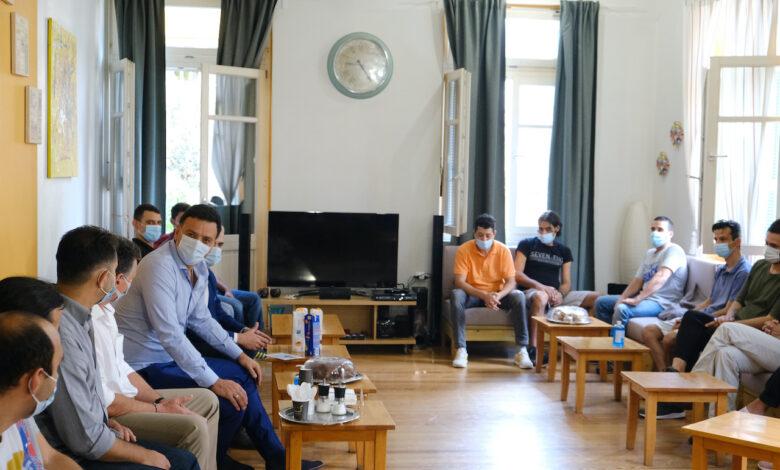 Κικίλιας: Επίσκεψη στο Κέντρο Υποδοχής Αποφυλακισμένων και Κοινωνικής Επανένταξης ΚΕΘΕΑ ΕΝ ΔΡΑΣΕΙ