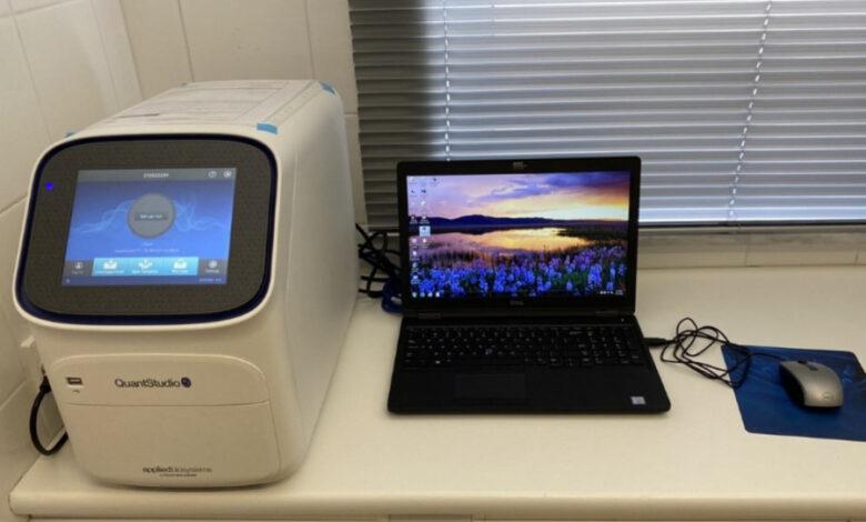 Λειτουργία υπερσύγχρονου αναλυτή ανίχνευσης Covid-19 στο Γενικό Νοσοκομείο Ξάνθης