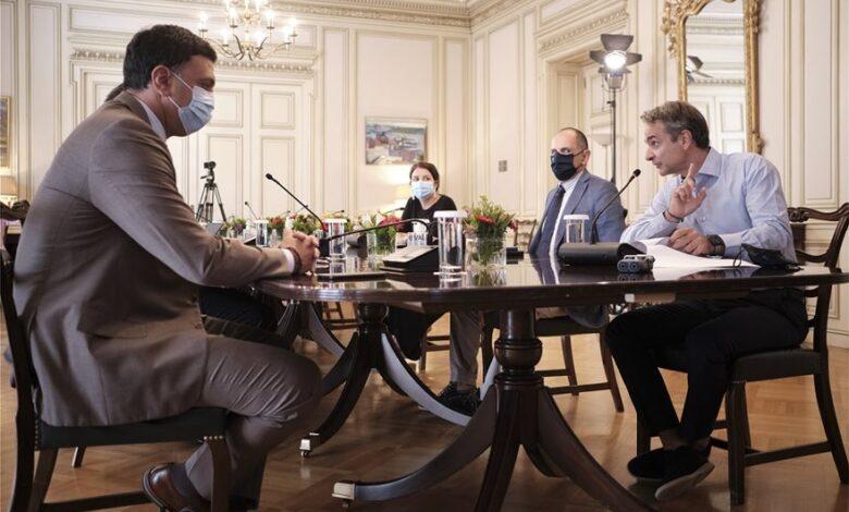Μητσοτάκης: Το εθνικό μας εμβόλιο είναι το φιλότιμο - Η μάσκα πρέπει να γίνει μόνιμη συνοδός μας