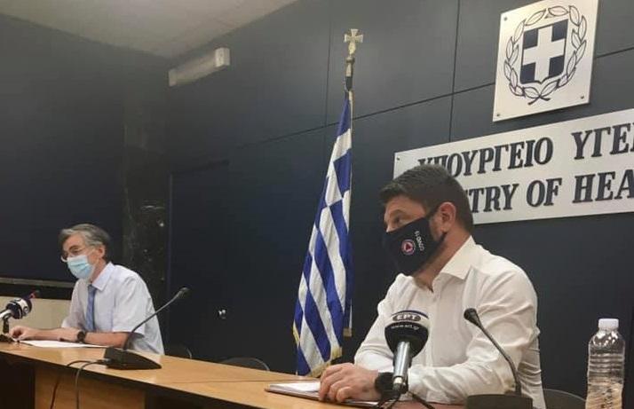 Τα αεροσταγονίδια μπορούν να περιοριστούν με τη χρήση μάσκας δήλωσε ο Σ. Τσιόδρας