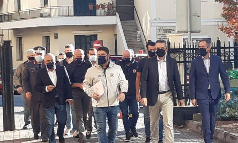 Κορονοϊός: Εκτάκτως στη Θεσσαλονίκη Χαρδαλιάς και Πρόεδρος του ΕΟΔΥ μετά τον εντοπισμό μεταλλαγμένου στελέχους από την Αφρική