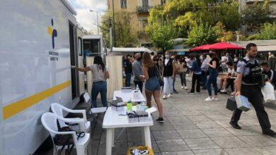 Κορονοϊός: Που γίνονται σήμερα 9 Μαΐου δωρεάν rapid test από τον ΕΟΔΥ