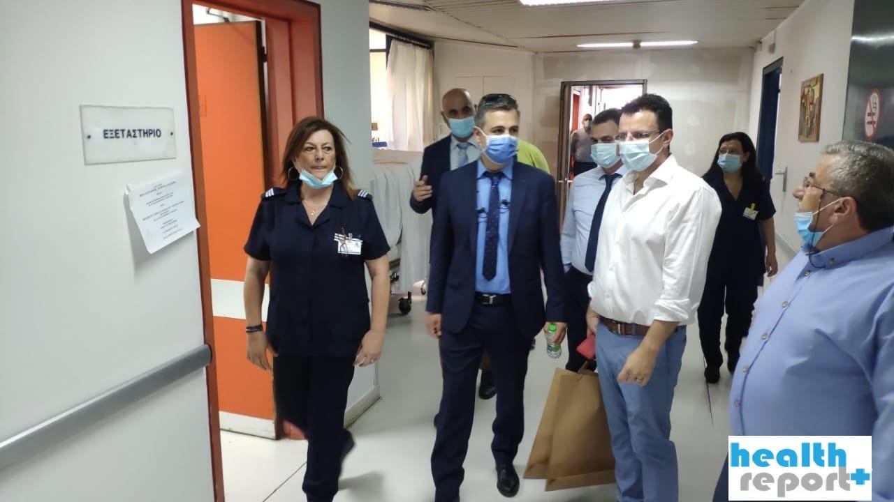 Κορονοϊός: Γεμίζουν ασφυκτικά οι ΜΕΘ στις «κόκκινες» περιοχές – Εσπευσμένα σε Θεσσαλονίκη και Γιάννενα ο Γ.Γ. του υπουργείου Υγείας