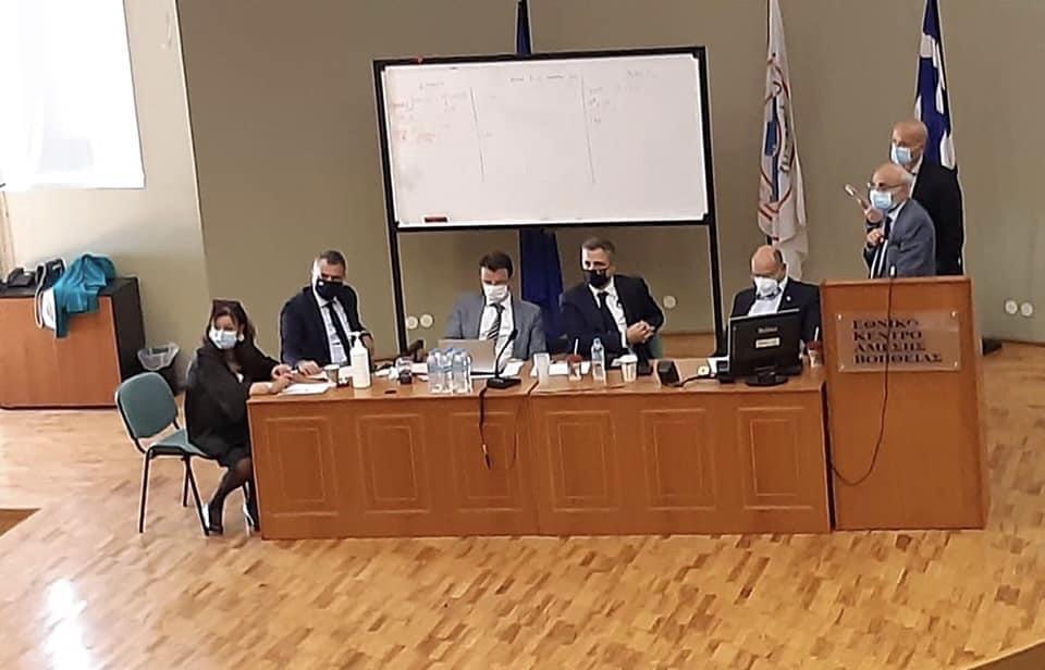 Ο Ιωάννης Κωτσιόπουλος σε σύσκεψη για τα νοσοκομεία της Θεσσαλονίκης