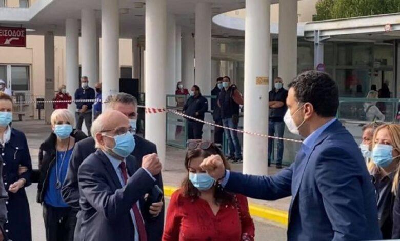 Κορονοϊός: Στη Θεσσαλονίκη ο Κικίλιας - Έκτακτη Σύσκεψη