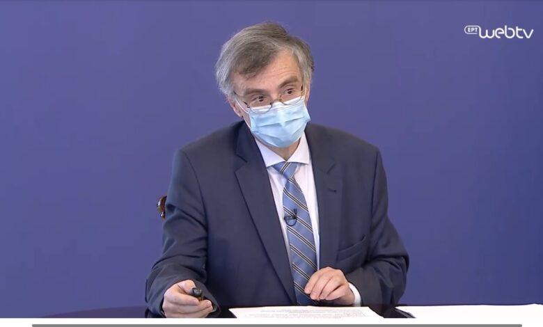 Τσιόδρας: Τι είπε για τα εμβόλια και τα μέτρα για τον κορονοϊό