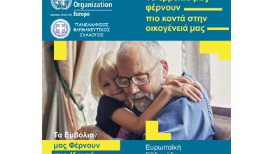 Συνεργασία Πανελλήνιου Φαρμακευτικού Συλλόγου με τον Παγκόσμιο Οργανισμό Υγείας