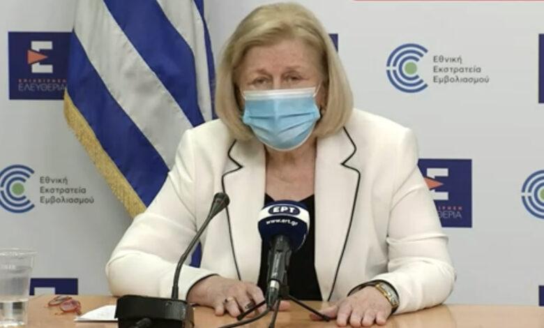 Εμβόλιο AstraZeneca: Άγνωστο εάν είναι αποτελεσματική η 2η δόση με άλλο εμβόλιο – Τι δήλωσε η Πρόεδρος της Επιτροπής Εμβολιασμών