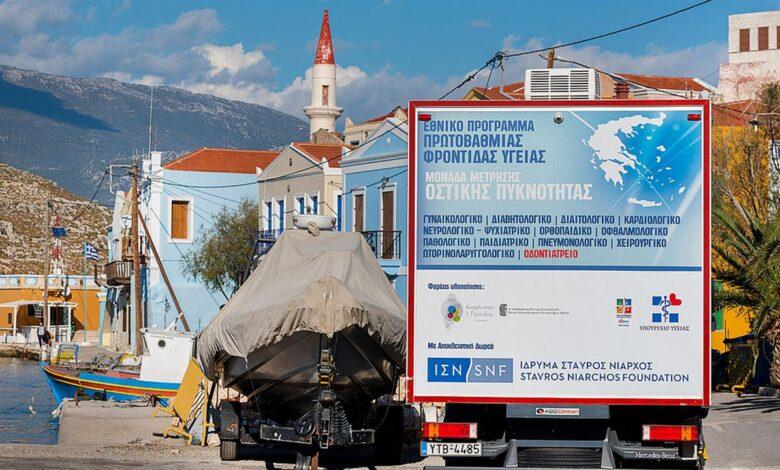 Οι Κινητές Ιατρικές Μονάδες ξανά στο ακριτικό Καστελόριζο