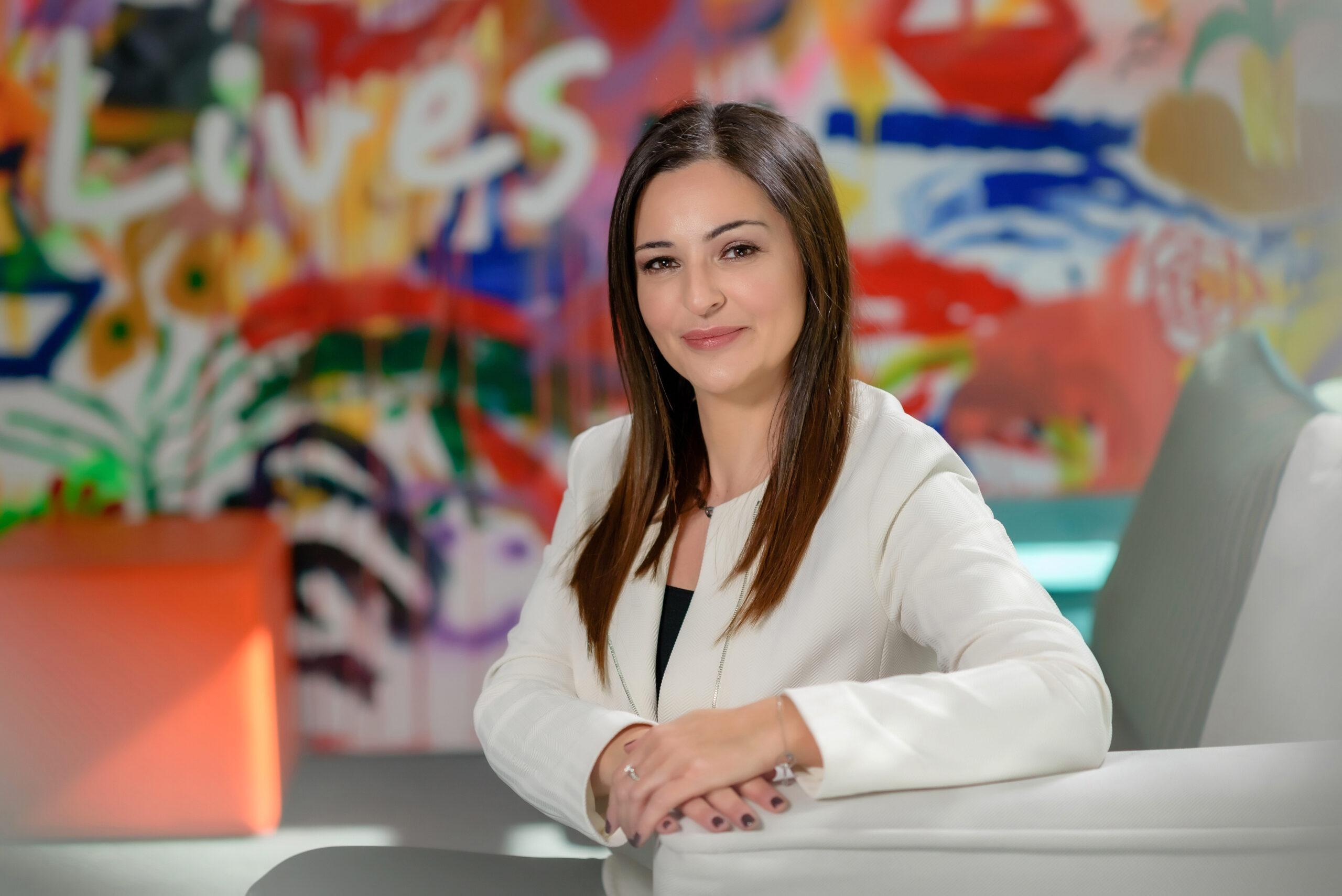 Η Ελισάβετ Προδρόμου, Γενική Διευθύντρια Bristol Myers Squibb Ελλάδας