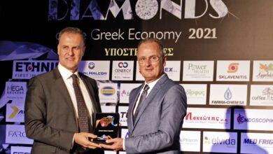 """Διάκριση της Bristol Myers Squibb στον θεσμό """"Diamonds of the Greek Economy"""""""