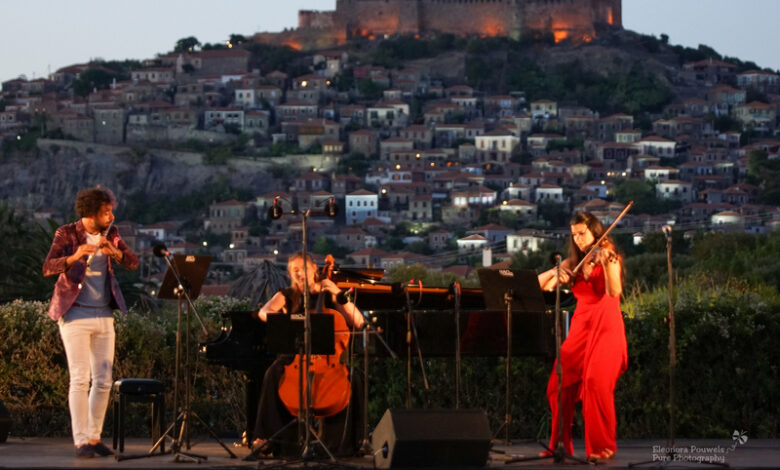 DEMO ΑΒΕΕ: Για 7η συνεχή χρονιά χορηγός στο Διεθνές Φεστιβάλ Μουσικής στο Μόλυβο της Λέσβου