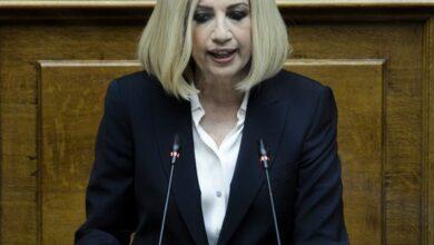 Φώφη Γεννηματά: Την Τετάρτη στη Μητρόπολη Αθηνών η κηδεία της