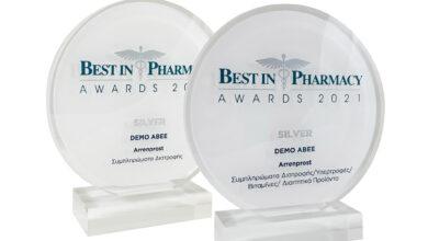 Δυο Βραβεία για το Arrenprost της DEMO ABEE στη διοργάνωση Best in Pharmacy Awards 2021