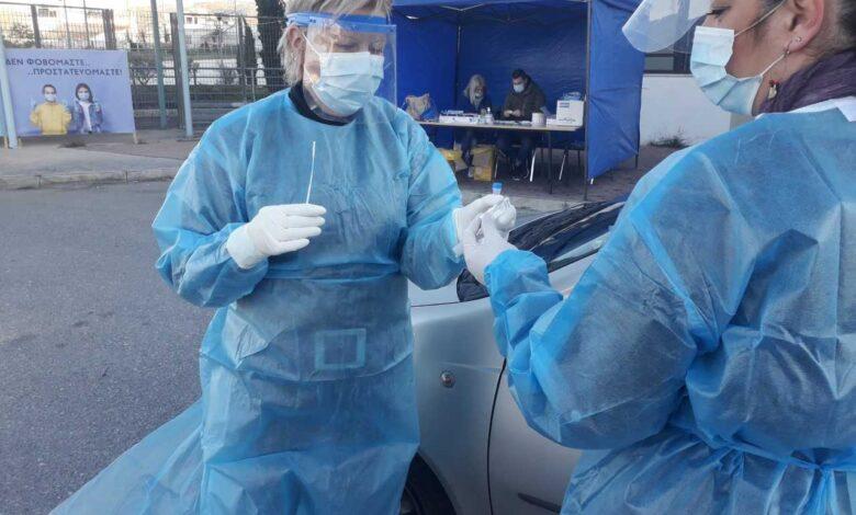 Κορονοϊός: Πού γίνονται σήμερα 29 Απριλίου δωρεάν rapid test από τον ΕΟΔΥ